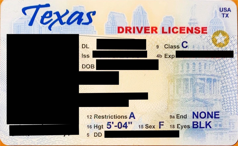 我在美国德州考驾照