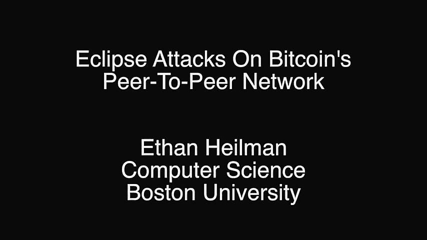 比特币点对点网络中的日蚀攻击