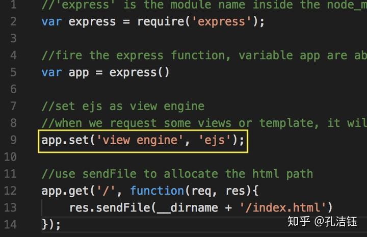 node+express 框架3 动态内容展示- 知乎