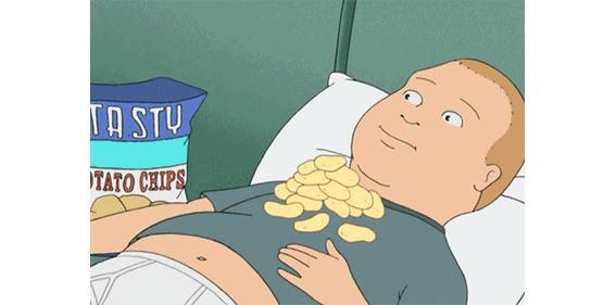 吃零食就会发胖吗?对不起,香脆椰子片做不到!
