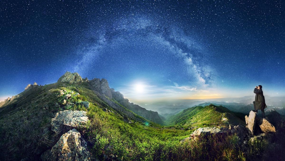 如何科学的寻找周边最佳的观星摄影地