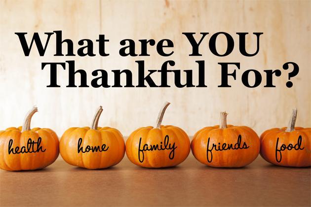 感恩节我们感谢什么?