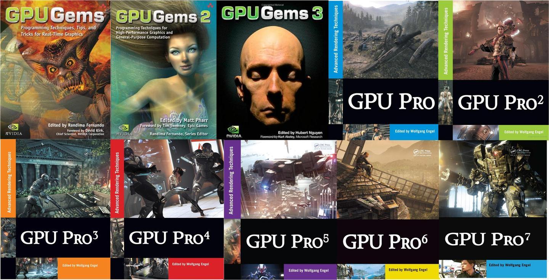 【GPU精粹与Shader编程】(一)  开篇 & 全系列11本书核心知识点总览
