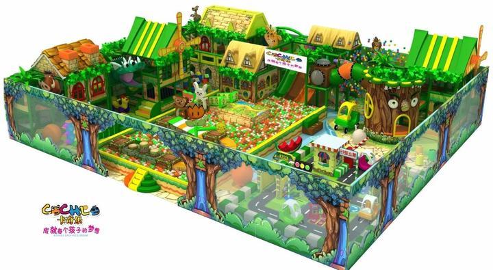 临夏儿童乐园设备加盟店 加盟资讯 游乐设备第1张
