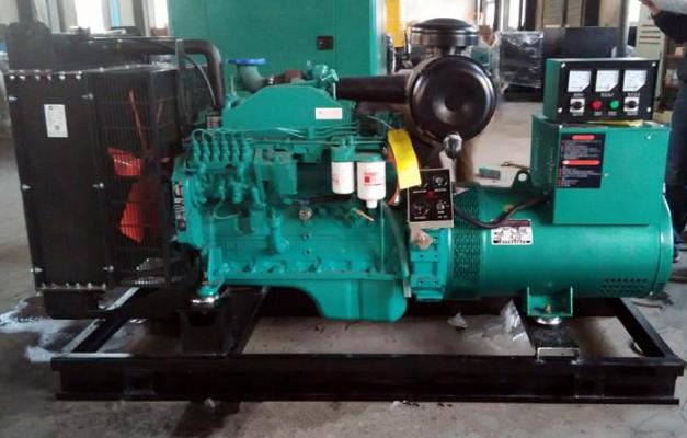 通柴柴油发电机产品设计图-通柴发电机组外观设计图