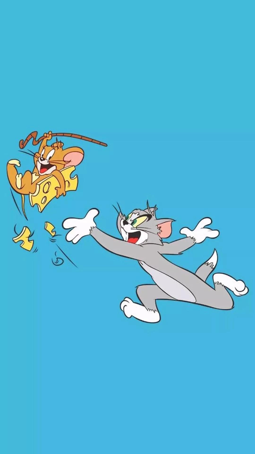 iPhone壁纸,猫和老鼠高清壁纸大全,土味套路情话说给你