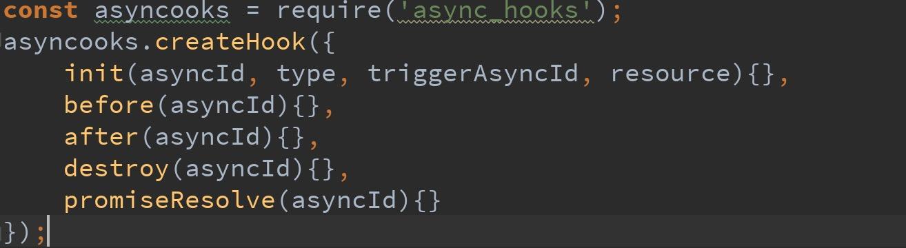 学习使用 Node.js 中 async-hooks 模块