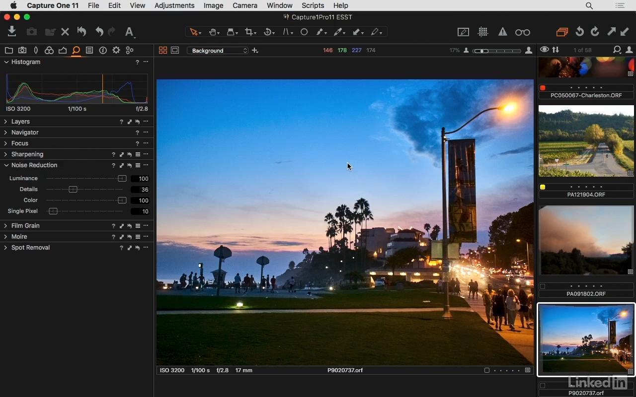 【S211】飞思Capture One Pro 11图像处理全面核心讲解视频教程 英语字幕