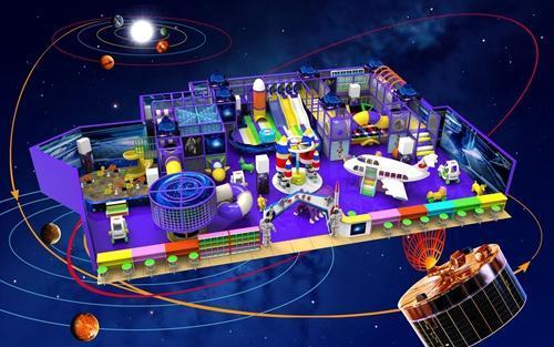 成功开一家室内儿童乐园淘气堡需了解的三个方面! 加盟资讯 游乐设备第1张