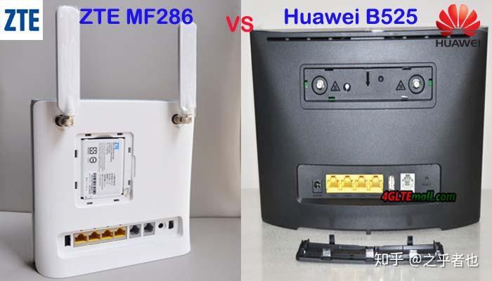ZTE MF286 VS Huawei B525s - 知乎