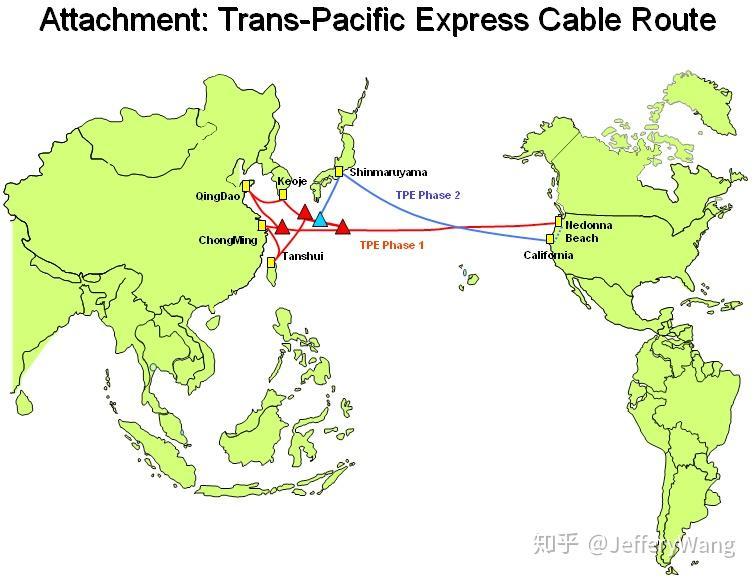 中国海底光缆分布�_中美网络通讯的海底光缆大约有多少根?每根有多粗?-知乎