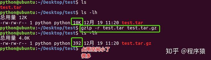 Python Gzip